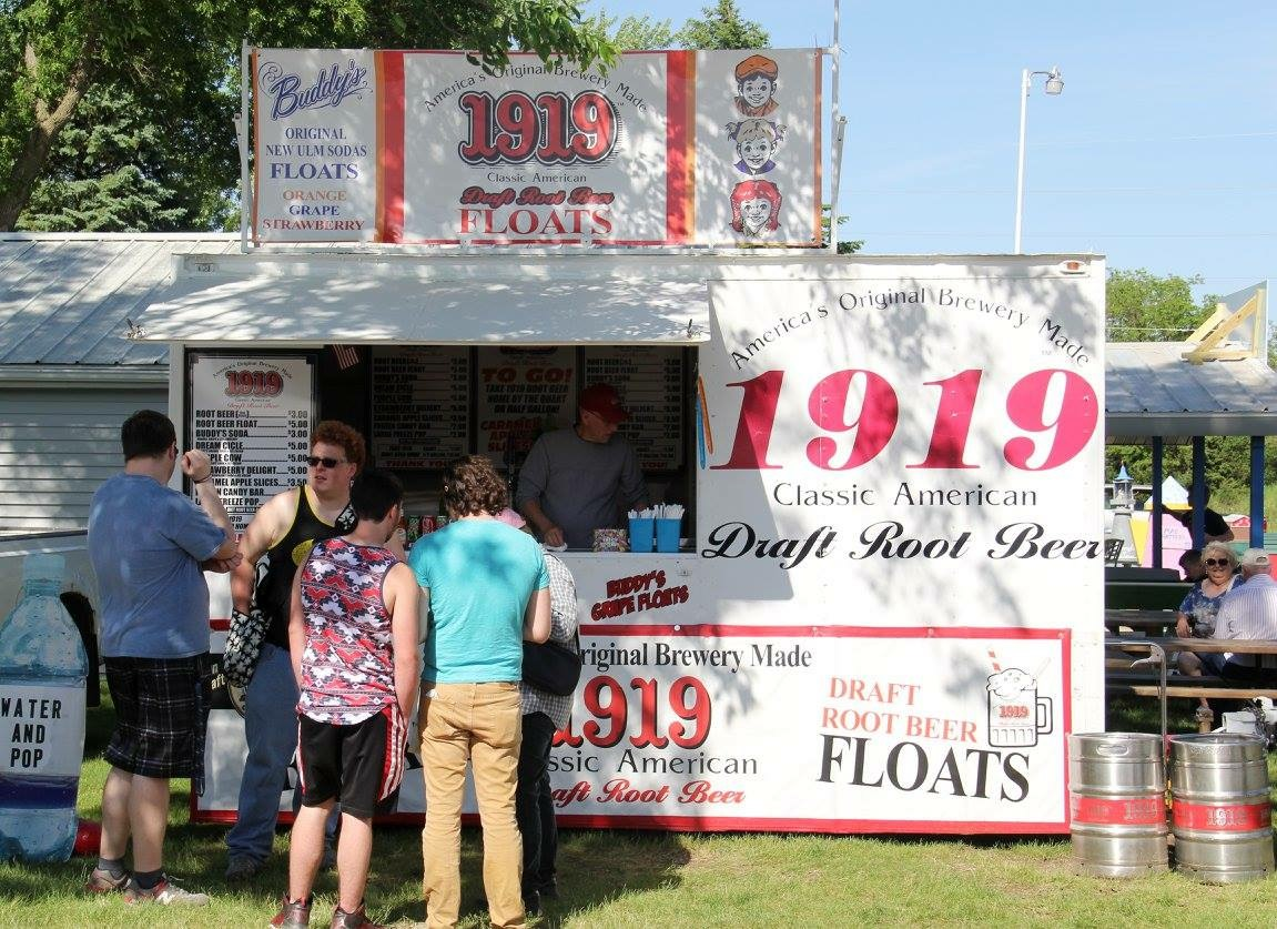 1919 Root Beer is at most of our holiday weekends