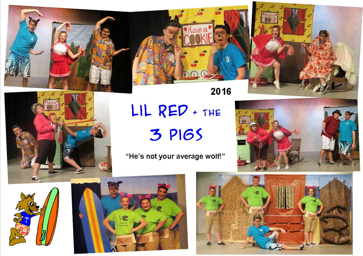 2016 Lil Red & the 3 Pigs