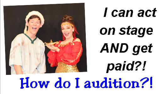 Web How Audition button
